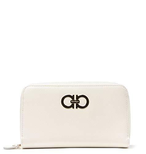 Salvatore Ferragamo Luxury Fashion Donna 661880 Bianco Portafoglio | Autunno Inverno 19