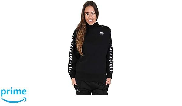 Various Sizes Kappa Womens Alkhe Oversized Sweatshirt Black//White