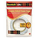 #4: 3M tape 12mm x 4 mtrs Double sided tape Foam type set of 2 no
