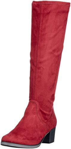 Caprice Damen 25506 Stiefeletten, Rot (Bordeaux Stre. 544), 41 EU