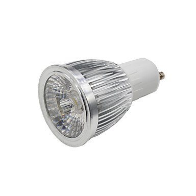 5W E14 GU10 GU5.3(MR16) GX5.3 B22 E26/E27 Spot LED MR16 1PCS diodes électroluminescentes COB 250-300lm Blanc Chaud Blanc Froid Warm (Couleur : Argent, Connecteur : B22-Blanc froid-85-265V)