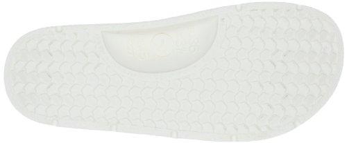Fashy Yacht Club 7227 10, Unisex - Sandalo Da Bagno Per Adulti Bianco (bianco 10)
