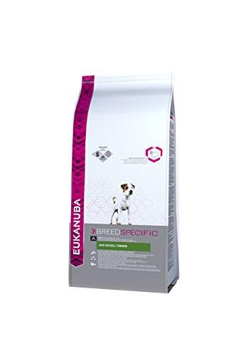 Eukanuba Premium Hundefutter für Jack Russel Terrier, Trockenfutter mit Huhn (1 x 2 kg)