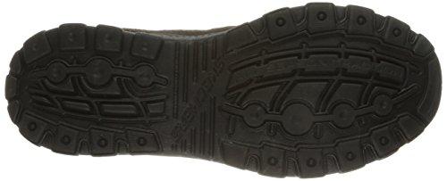 Skechers - Braver Gonsor, Sneaker Uomo Marrone (Brown (Brown Brn))