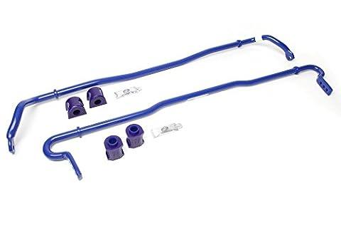 SuperPro Polyurethane 20mm Front , 18mm Rear Adjustable Sway Bar Kit RC0015-KIT