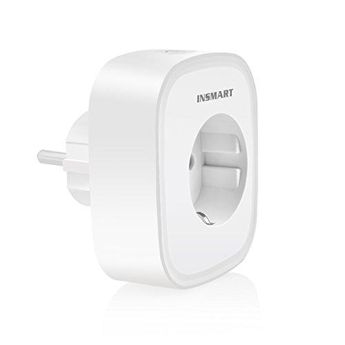WiFi Steckdose Smart Plug, INSMART Fernsteuerung Intelligente Steckdose WLAN Smart Alexa Steckdose -