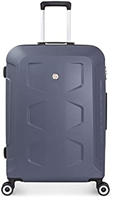 Wenger PC Hardside L Maleta con 4 ruedas azul