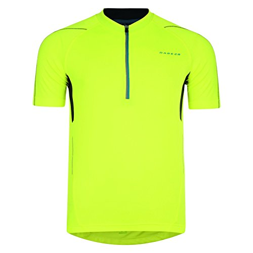 DARE 2B   MAILLOT TRANSPIRABLE PARA HOMBRE  HOMBRE  COLOR AMARILLO FLUORESCENTE  TAMAÑO XL