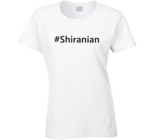 Hashtag Shiranian Cute Trending Dog T Shirt (XXX-Large)