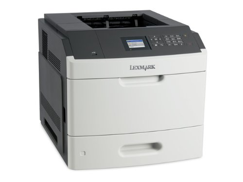 Lexmark MS810DN-Drucker Laser und LED (Microsoft XPS, PCL 5e, PCL 6, PDF 1.7, PostScript 3, ppds, 1200x 1200dpi, Laser, 3000-20.000Seiten pro Monat, A4, Lager von Karten, Umschlägen, Etiketten, Normalpapier, Transparenz) -