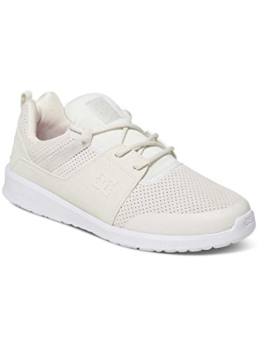DC Shoes HEATHROW PRESTI M SHOE, Sneakers basses homme Blanc - White/White/White