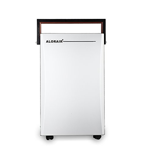 AlorAir Commercial Dehumidifier 16 L for Household, Office, Home, Kitchen, Bedroom (Silver)