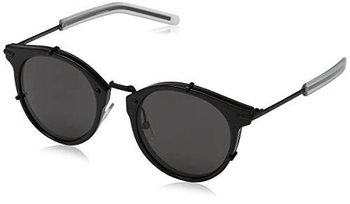 79aaacaa68 Dior DIOR0196S Y1 GVB Gafas de sol, Negro (Shiny Matte Black/Grey)