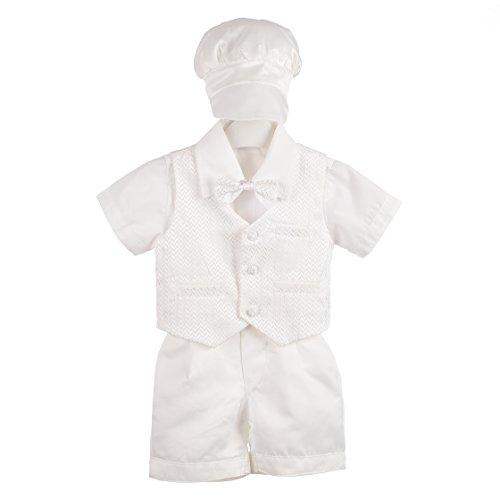 Lito Angels - Ropa de bautizo - para bebé niño blanco blanco 18 meses