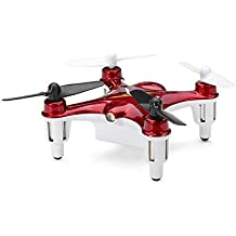Quad-helicóptero SYMA X12S NANO 2,4 G 4-canales con giroscopio (rojo)