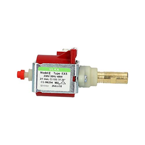 Pompa acqua pompa Ulka EX5 210-230V per caffettiera Saeco 99653000775753 12000140