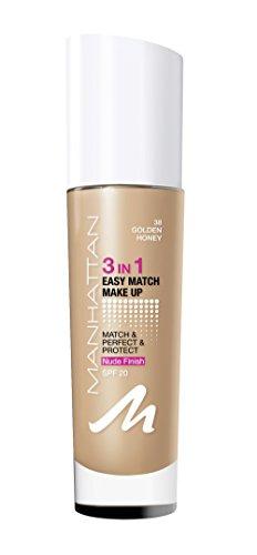 Match Make Up, Farbe. 38 golden honey, 1er Pack (1 x 30 ml) ()