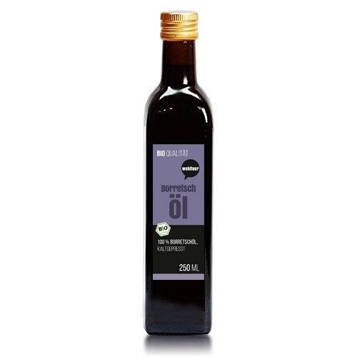 Wohltuer Bio Borretschöl 250ml - Nativ gepresst...