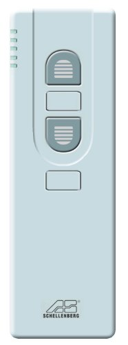 Preisvergleich Produktbild Schellenberg 20023 5 Channel Remote Control for Electric Wireless Roller Shutter Drives and Wireless Awning Drives - White by Schellenberg