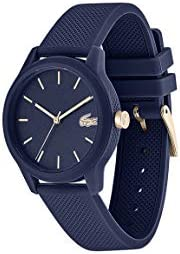 Lacoste Women'S Blue Dial Blue Silicone Watch - 200