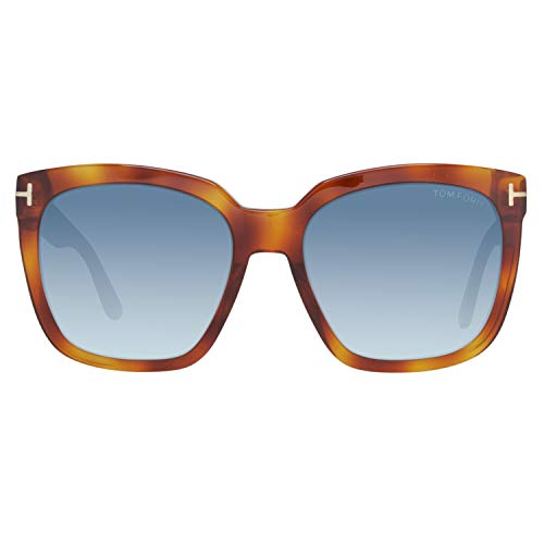 Tom Ford Damen FT0502 53W 55 Sonnenbrille, Braun,