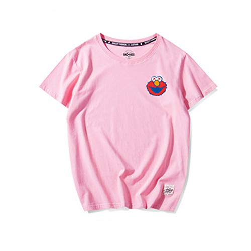 Wonderland Sesame Short Sleeved T Shirt Women 2019 New Hiphop Couple Summer White Half Sleeve Bottoming Shirt Wonderland Kinder Hoodie