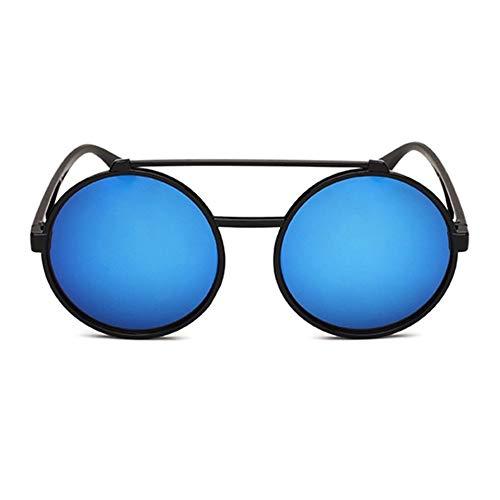 fdghhgjgtkuyiuy 2018 2019 Vintage Frau Mann Sonnenbrille Übergroße Gläser Harz Objektiv Polycarbonat Großen Rahmen Anti UV-Brillen Für Strand (C3)