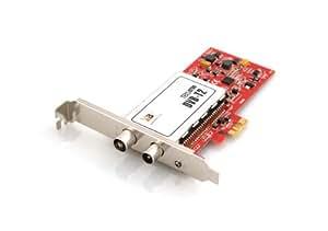 TBS PCI-E DVB-T2 Dual TV Tuner Card High Definition Digital Free to Air Tuner (DVB-T/DVB-T2) Receiver - TBS6280
