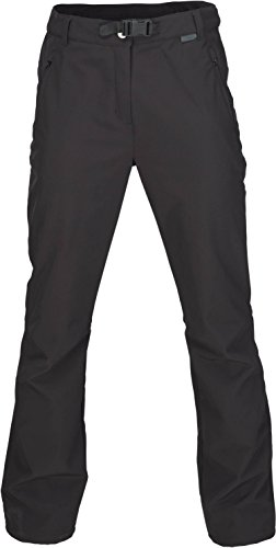 Fifty Five Warme Damen Softshellhose Trekkinghose Orac Schwarz 50