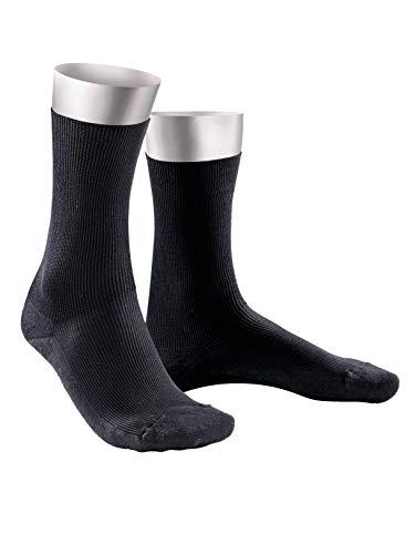 Herren Komfort Socken schwarz