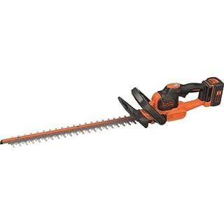 BLACK+DECKER GTC36552PC-QW Taille-haies sans fil - 55 cm - 36 V - 2,5 Ah - Ecartement : 22 mm - Chargeur 1h50 - Technologie anti-blocage
