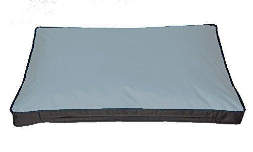 Kissenbezug für Outdoor-Hundekissen 120 x 80 cm, grau (ohne Füllung)