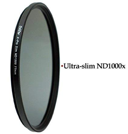 DolDer X-Pro Series Slim Neutral Graufilter ND 1000 - 72mm - ND 72mm