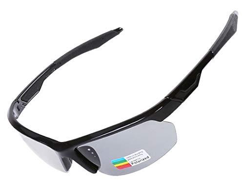 Adisaer Fahrradbrille Damen Radfahren Sonnenbrillen Farbwechsel Polarisierte Version Männer Und Frauen Im Freien Reiten Sportbrillen Black Damen Herren