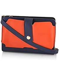 Mark & Keith Women Orange Wallet(MBG 2043 ORG)