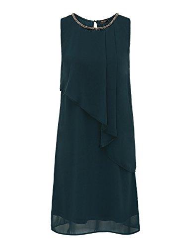 APART Fashion Damen Kleid Grün (Smaragd)