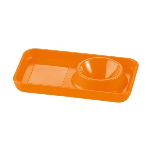 Koziol coquetier pott 2.0 kozio, mini planche, orange opaque, 3076521