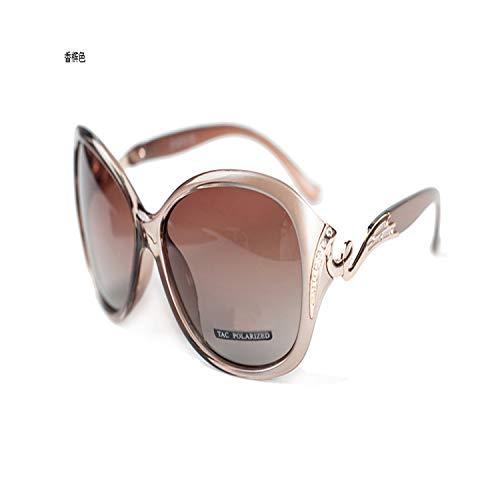 Sportbrillen, Angeln Golfbrille,Hot Polarisiert Sunglasses Women Sunglasses UV400 Protection Fashion Sunglasses With Rhinestone Sun Glasses Female NEW Champagne 5118