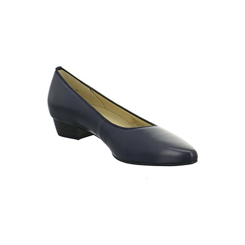 Ara Shoes Paris Damen Pumps Blau