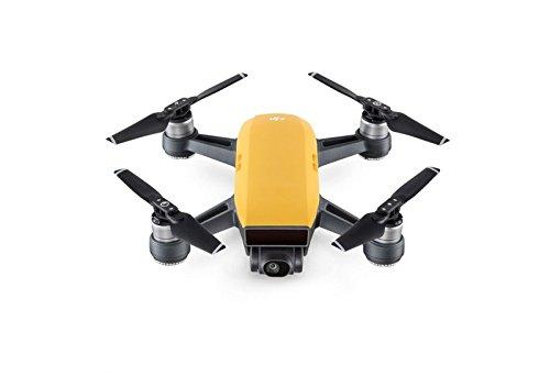 DJI Spark Fly More Combo - Dron cuadricóptero (full hd, 12 mpx, 50 km/h, 16 minutos, + 6 accesorios) color amarillo amanecer
