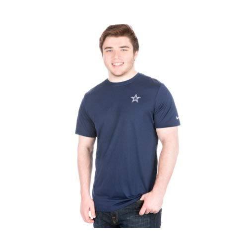 NFL Herren T-Shirt Nike Coaches Short Sleeve Tee, Herren, Nike Coaches Short Sleeve T-Shirt, Navy, Large