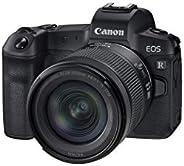 Canon EOS R pełnoklatkowy aparat systemowy - z obiektywem RF 24-105mm F4-7.1 IS STM (bezlusterkowy, 30,3 MP, 8