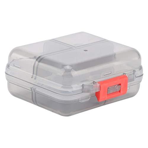Pill Box 7 Grids wöchentlich tragbare Medizin-Tablette Pill Organizer Drug Case für das Reisen(04) - Pill Box Drug