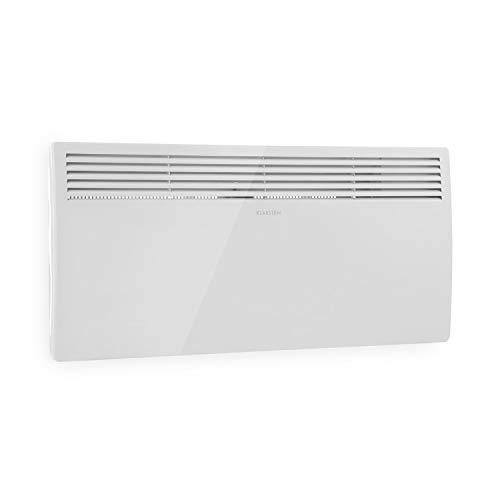 Klarstein--Hot-Spot-Slimcurve--Calefactor-convector--Circulacin-de-Aire--hasta-40m--Potencia-1000--2000-W--5-40C--80x40cm--Pantalla-LED--Programable--Grado-de-proteccin-IP24--Blanco