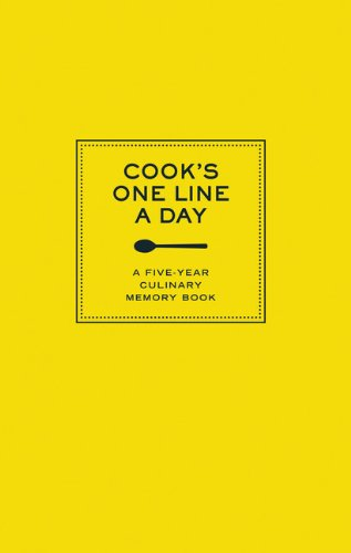 cooks-one-line-a-day-a-five-year-culinary-memory-book-journals