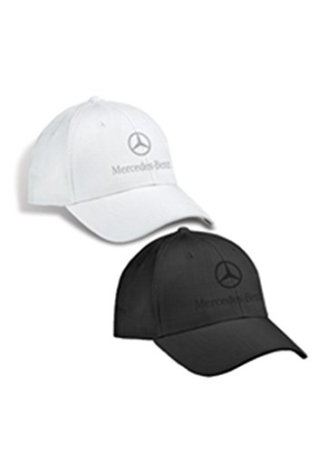 autentica-mercedes-benz-plaid-patron-structured-gorra-de-beisbol-sombrero-negro