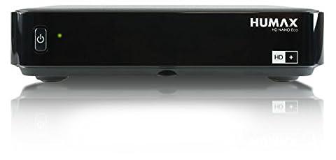 HUMAX Digital HD Nano Eco Satelliten-Receiver (HDTV, USB, PVR Funktion, geringer Stromverbrauch) inkl. HD+ Karte für 12 Monate,