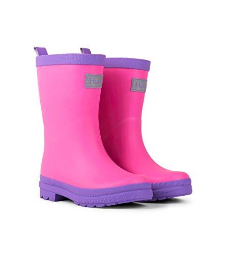 Hatley Wellies Pink & Purple