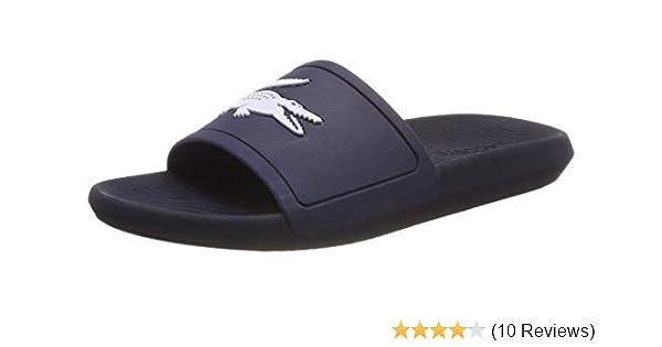 6936f5bdcb Lacoste Men's Croco Slide 119 1 CMA Open Toe Sandals: Amazon.co.uk ...