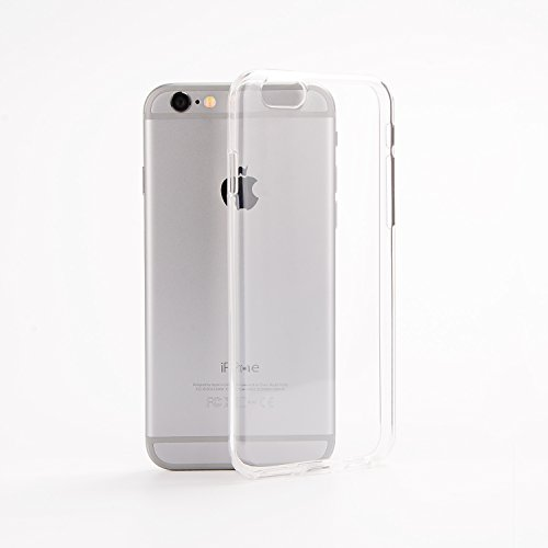 iphone 6 iphone 6s Silikon TPU Handyhülle von Wormcase,1,2mm, dünn Slim Clear Cover Handy Hülle Schutzhülle (4.7 Zoll) transparent Tasche Bumper durchsichtig Schutz Silikonhülle Apple iphone 6 s Transparent
